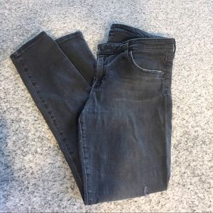 Adriano Goldschmeid distressed black jean
